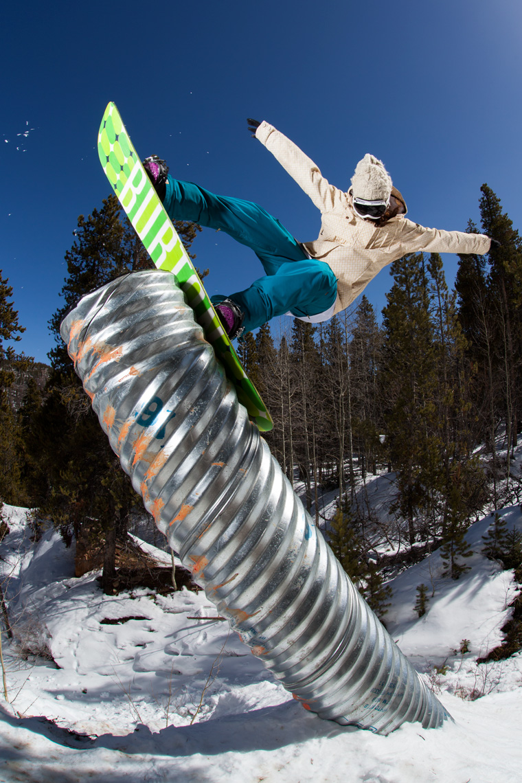 Courtney Phillipson Snowboarder - Tim Lloyd Photography